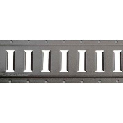 Kinedyne Series E Steel Horizontal Flanged Track 43002 - 10' Gray Powder Coat