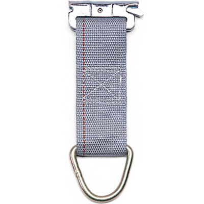 """Kinedyne Rope Tie Off - 6"""" x 2"""" D-Ring Spring-Loaded Fitting - 660001"""