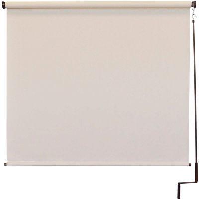 Keystone Fabrics Regal Cordless Outdoor Sun Shade - 10' W x 8' L - Palm