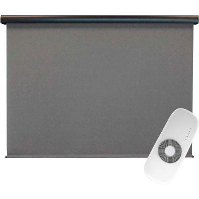 Keystone Fabrics Regal Rechargeable Motorized Outdoor Sun Shade W/Protective Valance - 8 X 8 - Elder