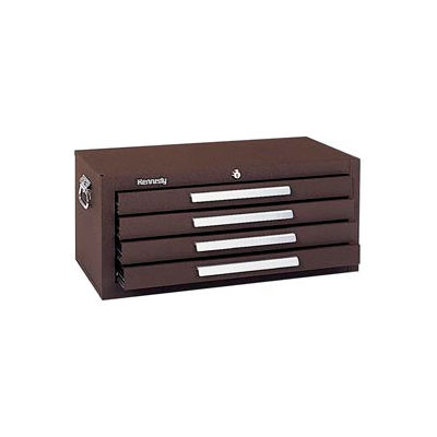 """Kennedy® 2604B Signature Series 26-5/8""""W X 12""""D X 11-3/4""""H 4 Drawer Brown Add-On Base"""