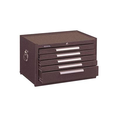 "Kennedy® 2805XB Signature Series 29""W X 20""D X 16-5/8""H 5 Drawer Brown Mechanics Chest"