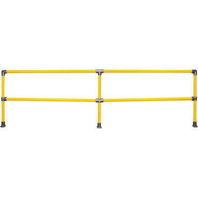 Kee Safety KWIK SS Galvanized Steel Kwik Kit Railing System, 12' Straight Kit