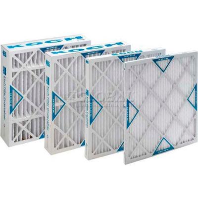 "Koch™ XL8 High Capacity Pleated Air Filter, MERV 8, Extended Surface, 20""Wx25""Hx1""D - Pkg Qty 12"