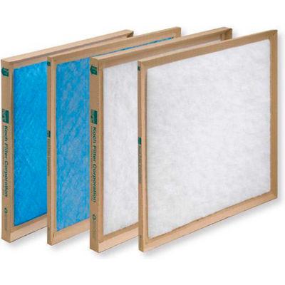 """Koch Filter™ Disposable Fiberglass Filter 16"""" W X 24"""" H X 1"""" D - Pkg Qty 12"""