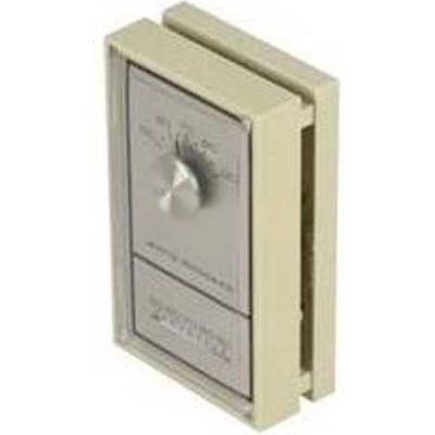 King Wall Thermostat 1E30-910, 24V, Mercury Free, Vertical Mount, Beige