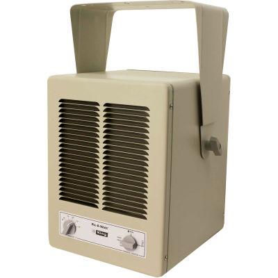 King Pic-A-Watt® Unit Heater KBP1230, 2850W Max, 120V, 1 Phase, Almond