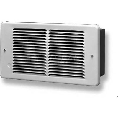 King Pic-A-Watt® Compact Wall Heater PAW1215-W, 1500W Max, 120V, White