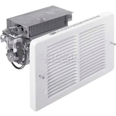 King Pic-A-Watt® Wall Heater Interior And Grill PAW2422I-W, 2250W Max, 240V, Compact, White