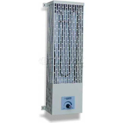 King Electric Utility Heater U2450-SS, 500W, 240V, Pump House, W/Thermostat, Stainless Steel