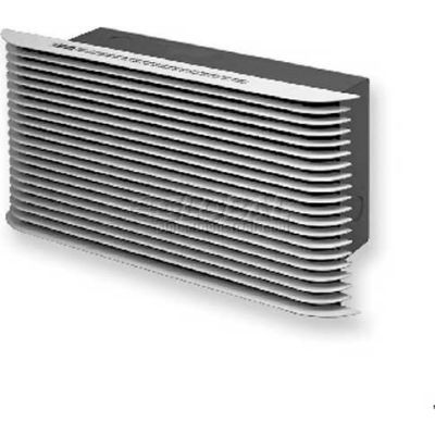 King ULTRA Grille, Use With PAW Series Heaters ULTRA-W, White
