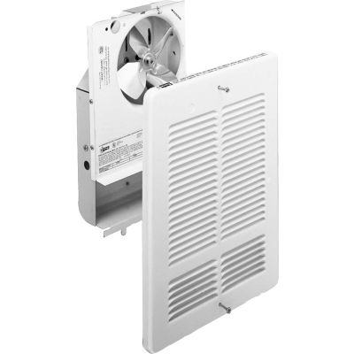 King Forced Air Wall Heater Interior And Grill W2415I-W, 1500W, 240V, White