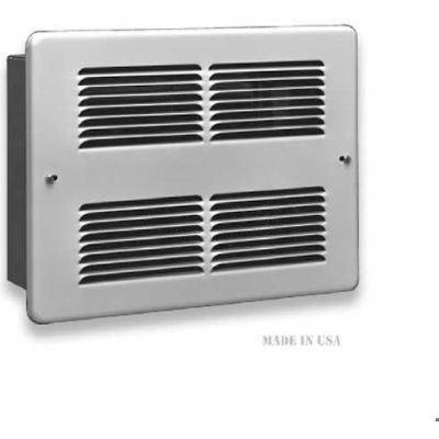 King Forced Air Wall Heater WHF2410-W, 1000W, 240V, White
