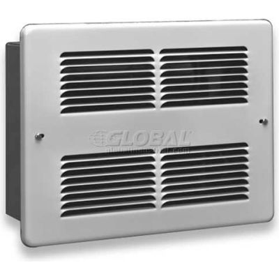 King Forced Air Wall Heater Interior And Grill WHF2410I-W, 1000W, 240V, White