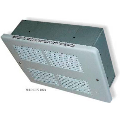 King Electric Forced Air Ceiling Heater WHFC2415-W, 1500W, 240V, White