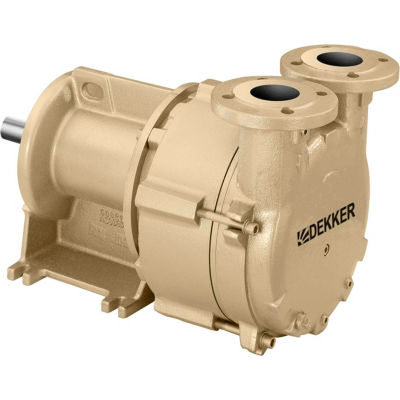Dekker DV0100D-PA3 Liquid Ring Vacuum Pump, 100 ACFM, 7.5HP