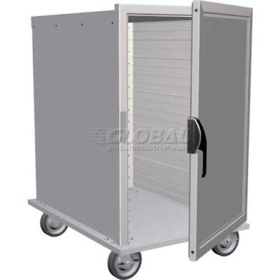 "Lockwood Half Size Solid Door Insulated Transport Cabinet,38""Hx23""Wx32""D,20 Pans - CA37-ESIN-20ID"