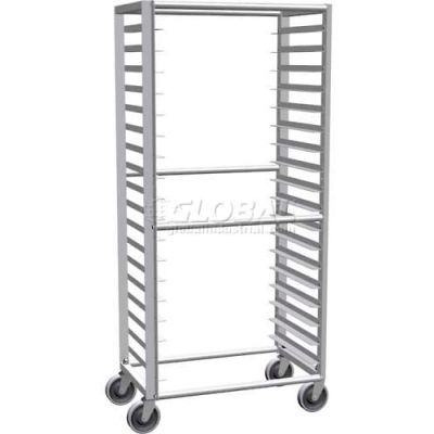 "Lockwood Side Load Econ Line Pan Rack, 64""H x 30""W x 19""D, 18 Pans - RA64-ER18ESL"