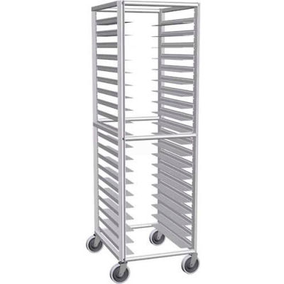 "Lockwood Adjustable Runner Rack, 70""H x 22""W x 27""D, 20 Pans - RR69-20-3"