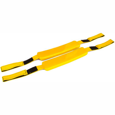 Kemp Replacement Straps (Pair), Yellow, 10-004-YEL