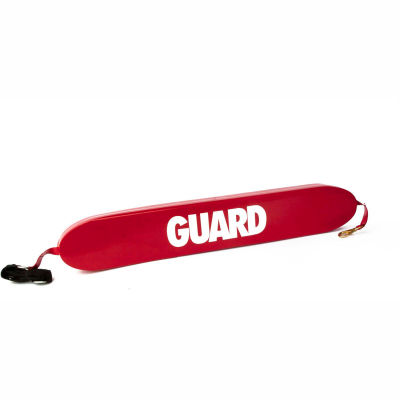 """Kemp 40"""" Rescue Tube With Brass Clips, Red Guard Logo, 10-203-RED"""