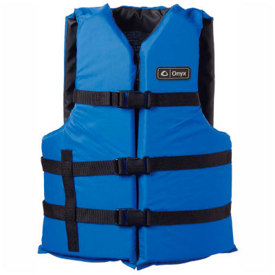 Kemp Adult Universal Life Vest, Royal Blue & Black, 20-002-ADULT-BLU