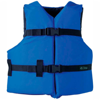Kemp Youth Universal Life Vest, Royal Blue & Black, 20-002-YOUTH-BLU