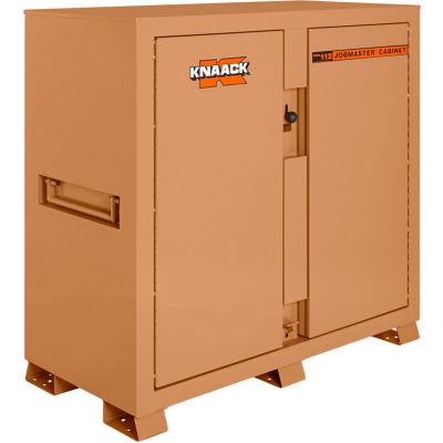 Knaack 112 Jobmaster® Cabinet, 54.9 Cu. Ft., Steel, Tan