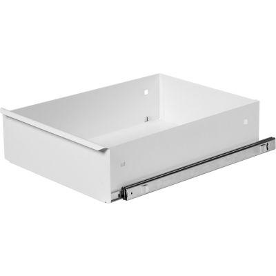 """Knaack 476-3 Standard 6"""" Deep Drawer for 47, Steel, White"""