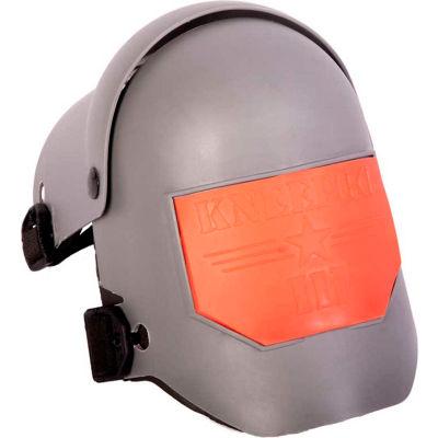 Sellstrom Knee Pro Ultra Flex III Knee Pad, Gray Shell, Orange Strip, One Size