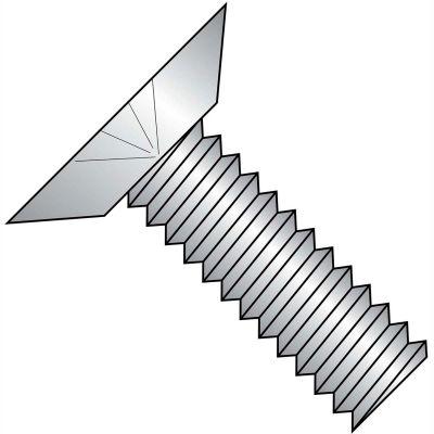 6-32X3/16  Phillips Flat Undercut 100 Degree Machine Screw Full Thread 18 8 Stainless Steel,5000 pcs