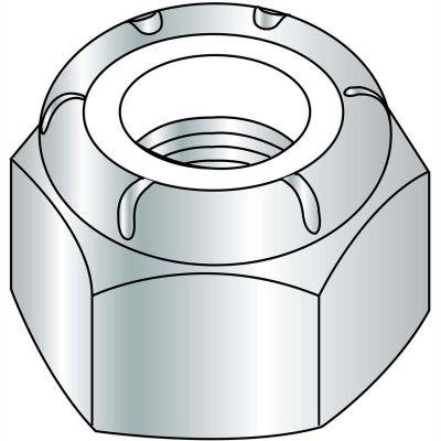 6-32  NM  Nylon Insert Hex Lock Nut Zinc, Pkg of 2000
