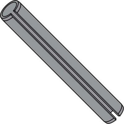 5/64X5/16  Spring Pin Slotted Plain, Pkg of 4000