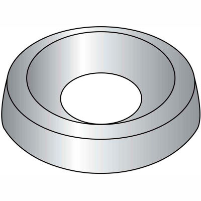 #8 Countersunk Finishing Washer 18-8 Stainlesss Steel - Pkg of 10000