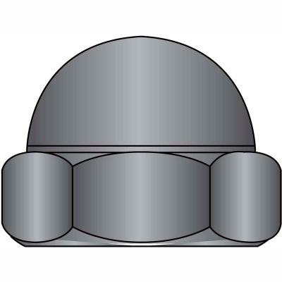 Nuts Acorn Nuts Cap Nuts 10 24 Two Piece Low Crown