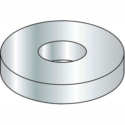 #10 Flat Washer - Steel - Zinc - SAE - Pkg of 25 Lbs.