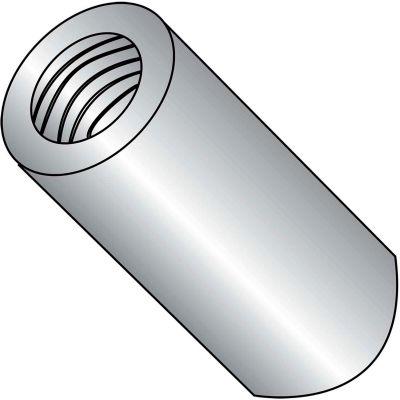 6-32x1/2 One Quarter Round Standoff Aluminum, Pkg of 1000