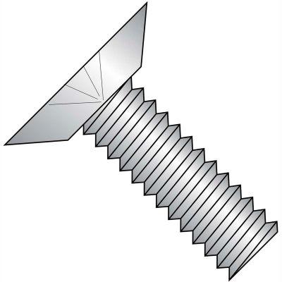 1/4-20X3/4  Phillips Flat Undercut Machine Screw Fully Threaded 316 Stainless Steel, Pkg of 1000