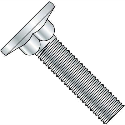 1/4-20X1 7/8  Carriage Bolt Flat Head Diameter .590-.640 Head Hgt .078-.109 Full Thrd Zinc,1200 pcs