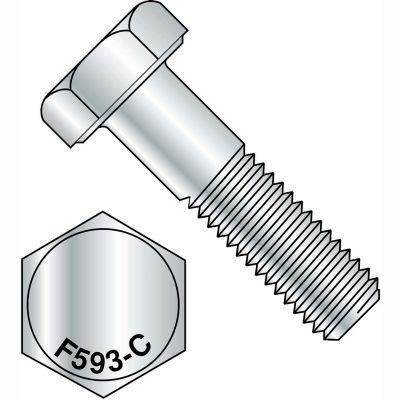 1/4-20X2 1/4  Hex Cap Screw 18 8 Stainless Steel, Pkg of 100