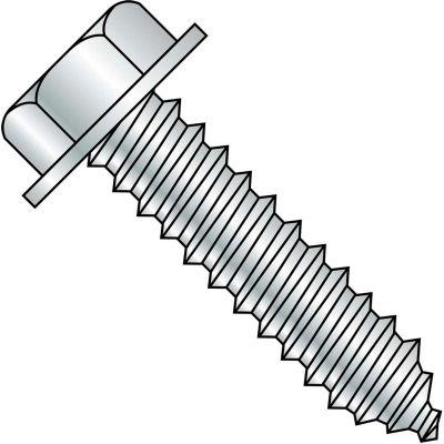 5/16-9X3  A/F.428-.437 Head Hgt.200-.230 Unslot Indent Hexwash Lag Screw Full Thread Zinc,500 pcs