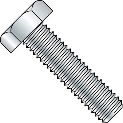 7/8-9X9  Hex Tap Bolt A307 Fully Threaded Zinc, Pkg of 20