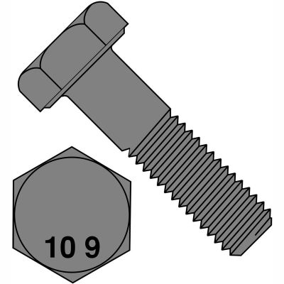 M16X55  Din 931 10 Point 9 Metric Partially Threaded Cap Screw Plain, Pkg of 100
