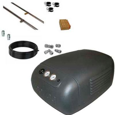Koolfog KF20 20' Stainless Steel Misting Kit System, W/115 Volt,2 HP M44 Pump