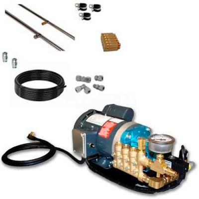 Koolfog KF50 50' Stainless Steel Misting Kit System, W/120 Volt,1 HP G2-40 Pump