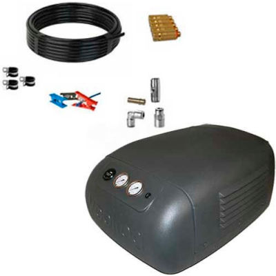 Koolfog KF70-N 70' UV Protected Nylon Misting Kit System, W/115 Volt,1 HP M20 Pump