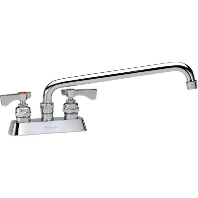 "Krowne 15-306L - Royal Series 4"" Center Deck Mount Faucet, 6"" Spout"