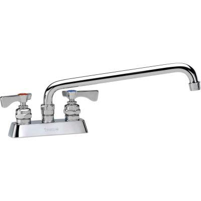 """Krowne 15-312L - Royal Series 4"""" Center Deck Mount Faucet, 12"""" Spout"""