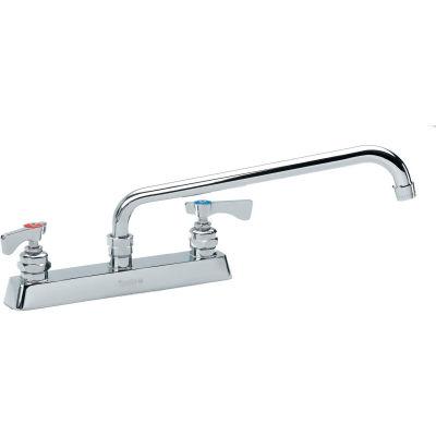 """Krowne 15-508L - Royal Series 8"""" Center Deck Mount Faucet, 8"""" Spout"""