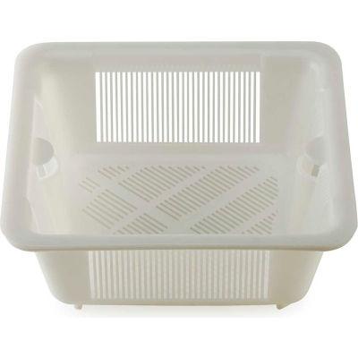 Krowne 30-147 - Medium White Plastic Kitchen Floor Drain Strainer